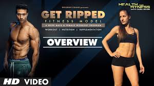 get ripped male female fitness model