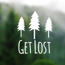 Get Lost Pine Trees Silhouette Vinyl Decal Sticker Computers Laptops Wallpapers Adventure Nature Car Decals Vinyl Stickers Car Stickers Aliexpress