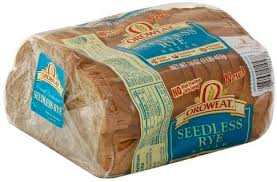 oroweat seedless rye bread 16 oz