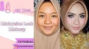 tutorial makeup flawless msian look