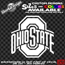 Ohio State Custom Vinyl Decal Sticker Car Truck Window Buckeyes School Brutus Ebay
