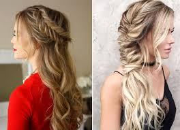 موديلات شعر طويل بسيطة