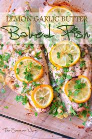 Lemon Garlic Butter Fish Moist And ...