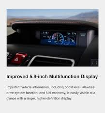 can a 2018 wrx multifunction display be