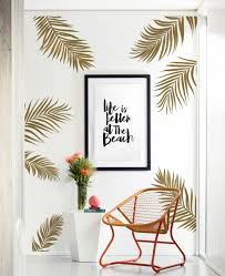 Bay Isle Home Palm Leaves Wall Decal Reviews Wayfair