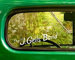 Amazon Com 2 The J Geils Band Decal Stickers White Die Cut For Window Car Jeep 4x4 Truck Laptop Bumper Rv Home Kitchen