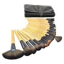 cosmetic tool makeup brush set w black