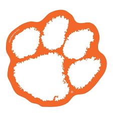 Wincraft Clemson Tigers Paw On The Gogo Grill Decal Mr Knickerbocker