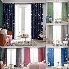 Stylish Curtain Star Blackout Window Curtains Room Thermal Insulated For Kids Boy Girls Bedroom Decor Walmart Com Walmart Com