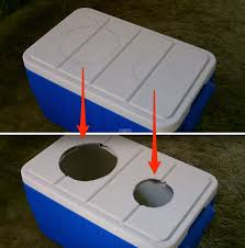air conditioner with a cooler