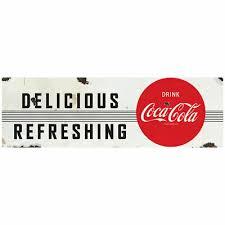 Delicious Refreshing Drink Coca Cola 1950s Wall Decal Restaurant Kitchen Decor 6 99 Picclick