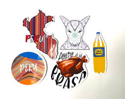 Peru Sticker Etsy