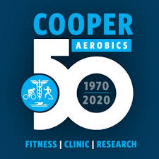 cooper aerobics on be inspired each month in in