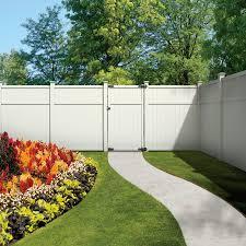 Product Image 3 Backyard Fences White Vinyl Fence Vinyl Fence Landscaping