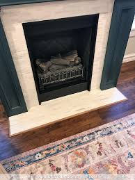 fireplace makeover plus my paint color