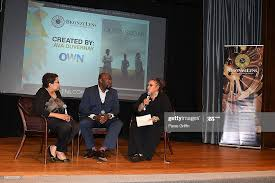 Deidre McDonald, Omar Dorsey, and Neema Barnette on stage at 2016... News  Photo - Getty Images