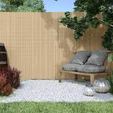 pvc screen border 17 mm screen fence