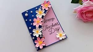 DIY Teacher's Day Pen gift card \\ How to make Teacher's day card - YouTube