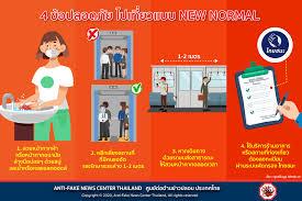 4 ข้อปลอดภัย ไปเที่ยวแบบ NEW NORMAL . 1.... - Anti-Fake News Center Thailand