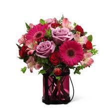 gardens pink exuberance bouquet