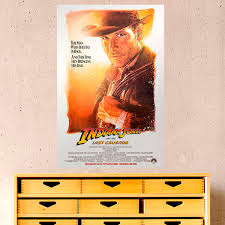Adhesive Poster Indiana Jones Muraldecal Com