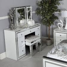 madison white glass freestanding vanity