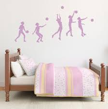 Volleyball Wall Decal Volleyball Wall Decor Wallums