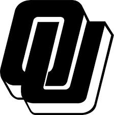 Amazon Com Shopforallyou Stickers Decals Matte Black Oklahoma Sooners Logo College Vinyl Decal Sticker Car Truck Window Sports Outdoors