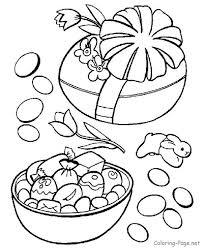 Easter Coloring Pages Wrapped Easter Egg Pasen Digi Stempels