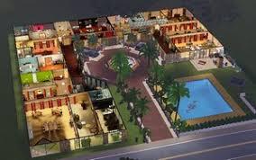 sims maison de luxe
