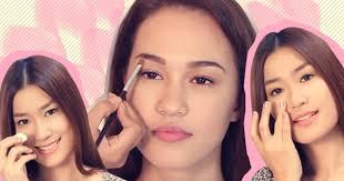 achieve the no makeup makeup