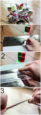 washi tape gift bows tutorial makeamazing