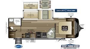 cougar half ton travel trailers 26rbs
