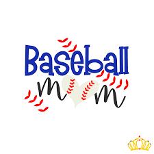 Baseball Mom Decal Dash Of Flair