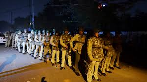 Delhi Police denies firing in Jamia as video showing otherwise ...