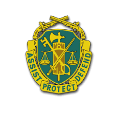 Army Military Police Corps Regiment Unit Crest Sticker