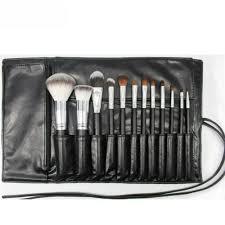 brush makeup bag case holder roll