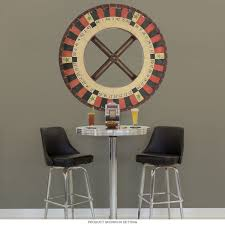 Roulette Wheel Carnival Game Wall Decal At Retro Planet