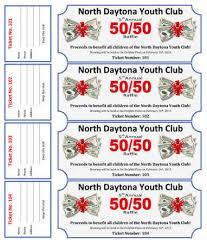 15 free raffle ticket templates in