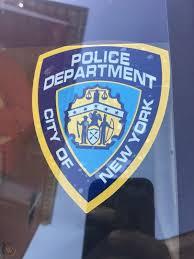 Nypd Car Sticker New York Police Department Windshield Sticker 1924252225