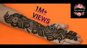 mehndi design with arabic