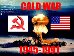 Cold War in the 20th century An Overview