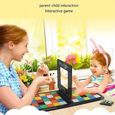 Magic Block Game Race Board Game Magic Cube Education Parent Child Activity Board For Kids Funny Family Party Game Birthday Gift Blocks Aliexpress