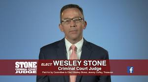 Wesley Stone for Criminal Court Judge