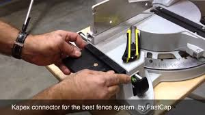 Best Fence With The Kapex Connector Youtube
