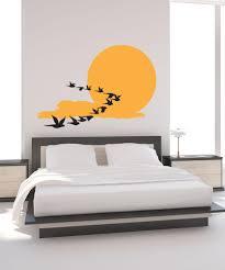 Vinyl Wall Decal Sticker Birds Across The Sun 1195 Stickerbrand