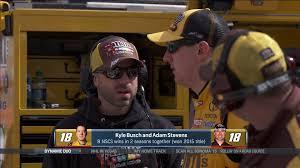 Kyle Busch and Adam Stevens form a dynamic duo   NBC Sports