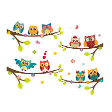 Owl Decals For Nursery