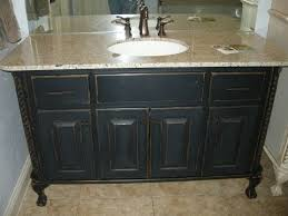 chalk paint bathroom cabinets you