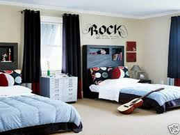 Rock Star Wall Decal Boys Kids Garage Band Room 36 For Sale Online